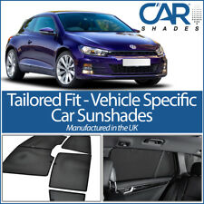 VW Scirocco 3 Door 2008 On UV CAR SHADES WINDOW SUN BLINDS PRIVACY GLASS TINT