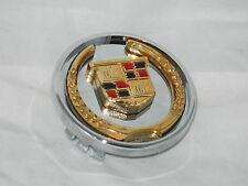 """NEW MC2 CADILLAC STS SLS CTS MC 2-3/8"""" DIA 99-4564 GOLD WHEEL RIM CENTER CAP"""