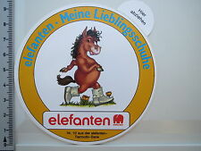 Aufkleber Sticker Elefanten Marke - Meine Lieblingsschuhe - Kinderschuhe (1768)
