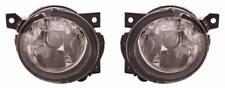 Pair OS Left NS Side Fog Lights HB4 For VW Jetta Mk2 Saloon 06-9.11
