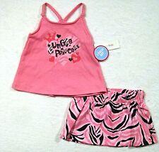 NEW Wonderkids Princess Fashion Strappy Top Matching Skirt Set 12 M Baby Girl