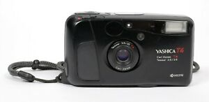 Yashica T4 T* Carl Zeiss 35mm F3.5 lens camera (TESTED)