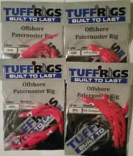 TUFF RIGS - OFFSHORE SNAPPER FISHING RIGS WITH GAMAKATSU HOOKS & SQUID SKIRTS
