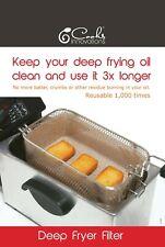 Cooks Innoivations Reusable Non-Stick Deep Fryer FILTER - Use your oil longer!