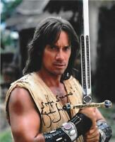 Kevin Sorbo signed 8x10 photo Hercules tv movie star autograph