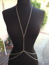 Double layer sexy Body Chain Jewellery Bikini Waist Belly Beach Harness Necklace
