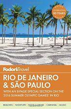 Fodors Rio de Janeiro & Sao Paulo (Travel Guide)