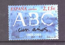 Espagne 2003 journaux-Le 100th anniversaire de ABC SG3935 Comme neuf Stamp