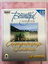 Bountiful Golf Course (CD) - Links Championship Course Macintosh - Access 1995
