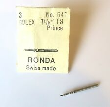 NEW STEM PART TO FIT Rolex TS Prince MOVEMENT WATCH WINDING STEMS