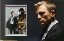 DANIEL CRAIG Signed 15x10 DVD Cover Display JAMES BOND 007 CASINO ROYALE COA
