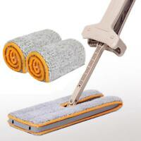Double Sided Mop Non Hand Washing Dust Push Mop Cloth Home Clean Accessories New