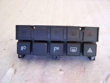 89-1995 Ferrari 348 OEM Upper Center Console Push Button Panel Buttons Switches