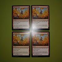 Warlord's Fury x4 Dominaria 4x Magic the Gathering MTG