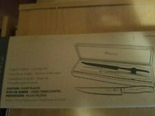 Genuine Pampered Chef Forged Carving Set 1056 in case - New In Box