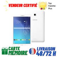 """SAMSUNG GALAXY TAB E SM-T560 Tablette 9,6"""" 8 GB RAM 1,5 GB 1,3 GHz Wi-fi BLANC"""