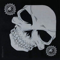Halloween Party Skull Skeleton Pirate Black Scarf Hair head band Wrap Bandana