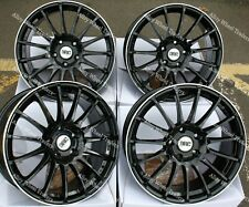 """18"""" Fast Alloy Wheels Fits Audi A3 S3 A4 S4 Cabriolet B5 B6 B7 B8 B9 5x112"""