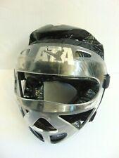 Ata Taekwondo Macho Sparring Head Gear Helmet w/ Face Mask Shield - Youth Large
