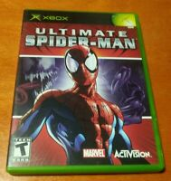 Ultimate Spider-Man Microsoft XBOX Marvel Activision Treyarch Single Player Teen