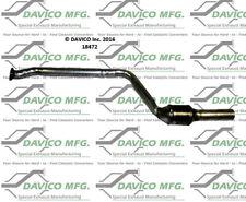 Catalytic Converter-Exact-Fit Rear Left Davico Exc CA 18472