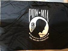 Pow Mia Flag 4' x 6' Made In Usa by Annin Flagmakers Nyl-Glo 100% Nylon