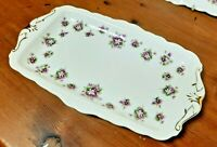 Royal Albert SWEET VIOLET Sandwich Tray Plate  Bone China