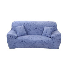 Washable Stretch 3 Seater Sofa Slip Cover Settee Couch Settee Slipcover Blue