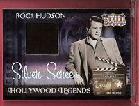 ROCK HUDSON WORN MEMORABILIA SWATCH RELIC CARD #d84/100 2007 AMERICANA LEGENDS