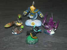 SKYLANDERS SWAP FORCE LOT 4 FIGURINES ACTIVISION OCCASION