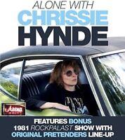 Alone With Chrissie Hynde [New DVD] Super Jewel Box