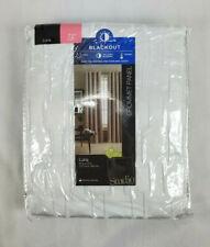 "Studio JCP Home Luna Blackout Grommet Curtain Panel, Cool White - 50""x72"""