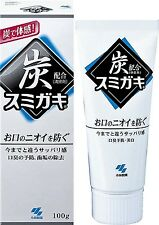 KOBAYASHI SUMIGAKI Charclean Charcoal Power Toothpaste Japan 100g f/s