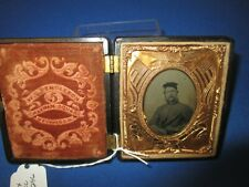 Original U.S. Civil War 1/6 Plate Tintype ID'ed to William Bennett N.Y. Regt.