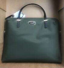 Kate Spade New York Daveny Classic Nylon Laptop Case Bag Evergreen NWT $248