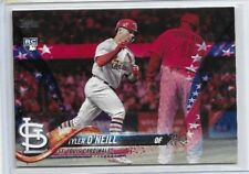 2018 Topps Update Tyler O'Neill Rookie Independence Day Refractor Rookie #71/76