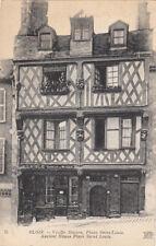 BLOIS 71 vieille maison place saint-louis doreur sur métaux Laigle english sub