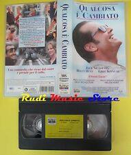 film VHS QUALCOSA E' CAMBIATO 1999 jack nicholson hunt kinnear (F5**) no dvd