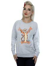 Disney Women's Winnie The Pooh Classic Tigger Sweatshirt Grey Size S SA172 KK 17