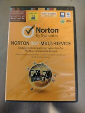 Norton Security Deluxe Multi Device 5 PC Mac Android iOS, 1 Year, NEW Sealed