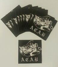 15x Adesivi ACAB-AMF-ULTRAS CASUALS TERRACE FOOTBALL ADESIVI - 1312
