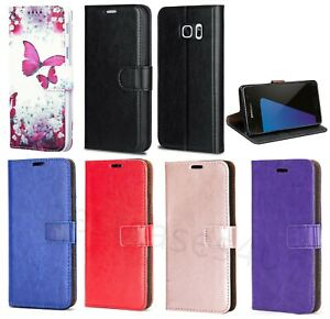 For S20 S7 S6 S7edge S8 S9 Phone Case Leather Flip Shockproof Wallet Book Cover