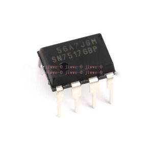 1/5/10pcs DIP SN75176BP DIP-8 chip bus transceiver Interface ICs