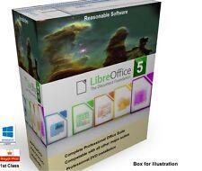 Libre Open Office suite compatible con Microsoft Windows-descarga