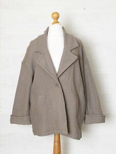 Thought Clothing XL/XXL Cecily Wool Blend Unstructured Winter Coat