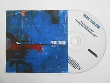 WAX TAILOR : TO DRY UP ( 2 VERSIONS ) [ CD SINGLE ] ~ PORT GRATUIT