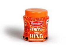 Ramdev Strong Hing Powder Ferula Asafoetida powder natural-cooking spice(50GX10)