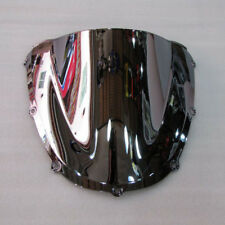 For Honda CBR 900RR CBR 954RR 2002 2003 Windshield Silver Screen Double bubble