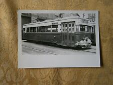 Original Streetcar Trolley Photograph Scholes Youngstown Municipal Railway