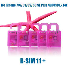 R-SIM11+ Professional Unlock Card for iPhone 7/6/6s/5S/5C SE Plus 4G iOs 10.x